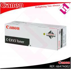 CANON TONER COPIADORA NEGRO C-EXV3 IR/2200/2800/3300/2200I/3
