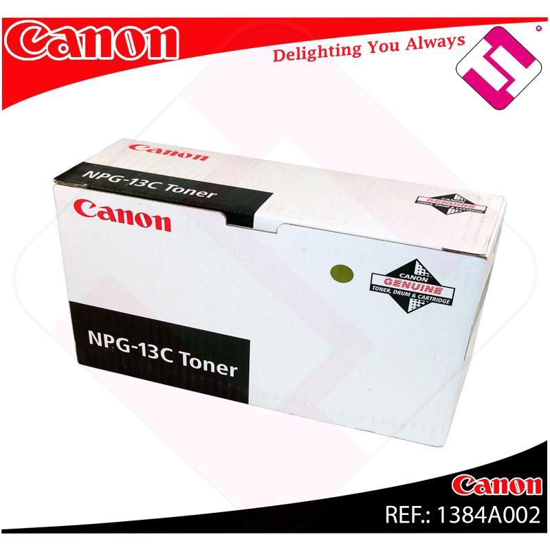 CANON TONER COPIADORA NEGRO NPG-13 8.500 PGINAS NP/6028/603