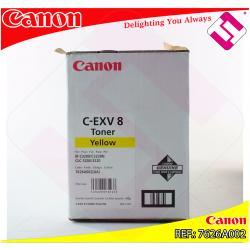 CANON TONER COPIADORA AMARILLO CEXV8 25.000 PAGINAS CLC/3200