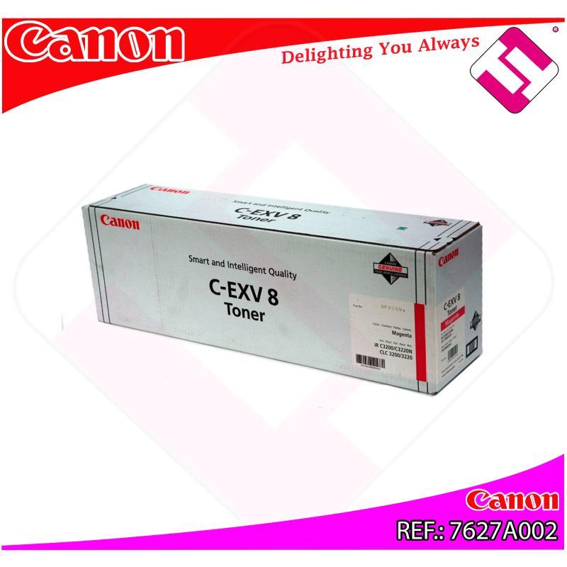 CANON TONER COPIADORA MAGENTA CEXV8 25.000 PAGINAS CLC/3200/