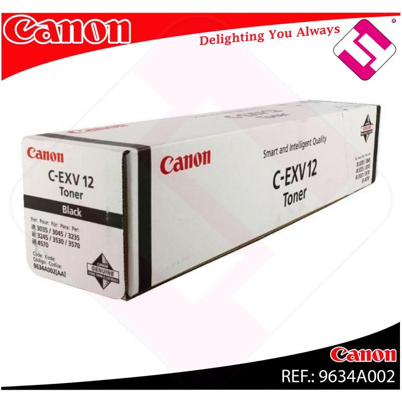 CANON TONER COPIADORA NEGRO CEXV12 30.000 PAGINAS IR/3570/45
