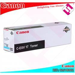 CANON TONER COPIADORA CIAN CEXV17 30.000 PAGINAS IRC/4580I/4