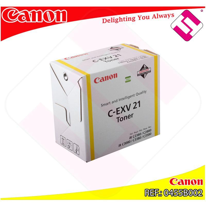 CANON TONER COPIADORA AMARILLO CEXV21 IRC/2380I/2880I/3380I