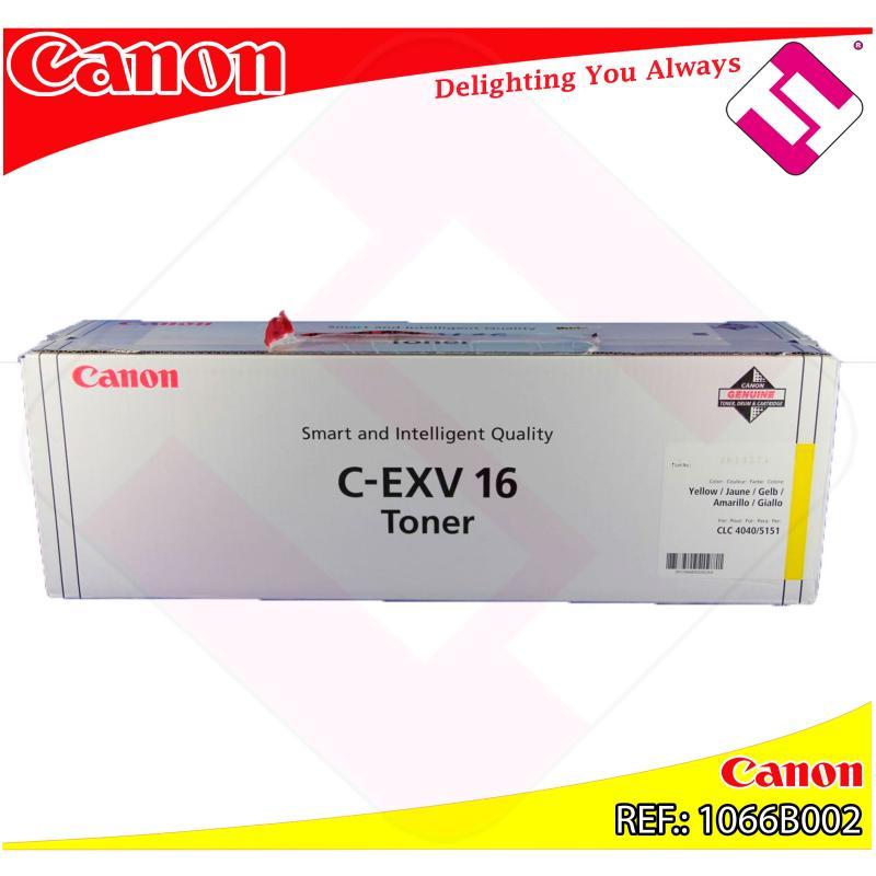 CANON TONER COPIADORA AMARILLO CEXV16 CLC/4040/5151