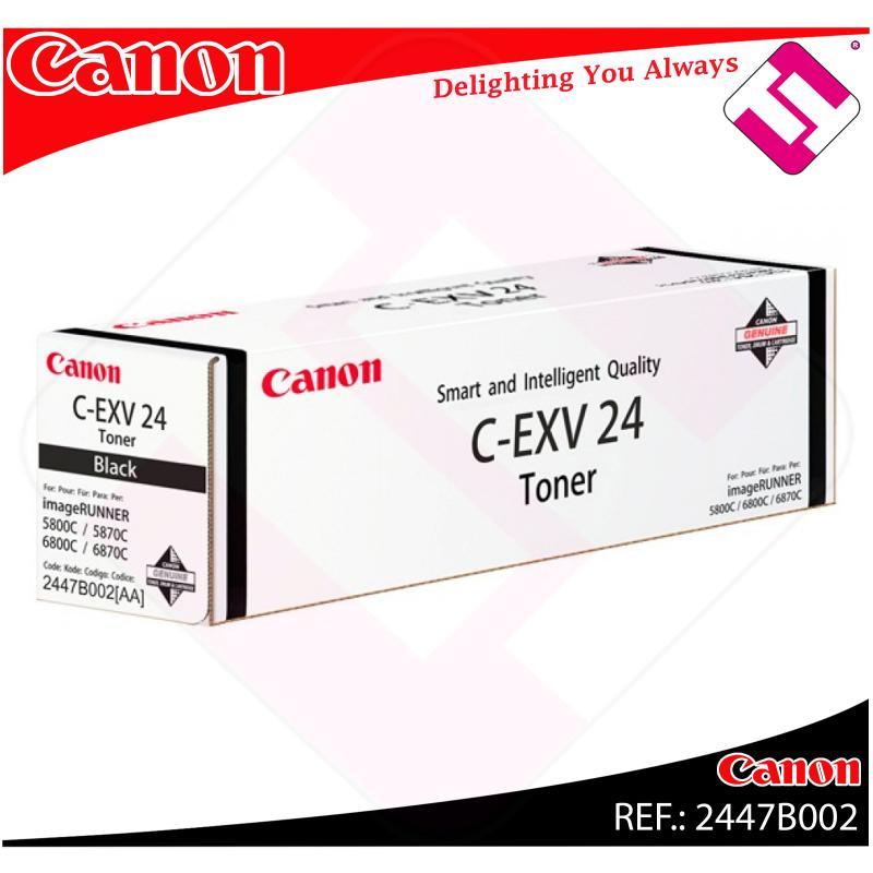 CANON TONER COPIADORA NEGRO CEXV24 48.000 PAGINAS IR/5800CI/
