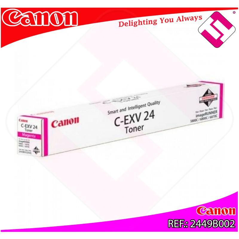 CANON TONER COPIADORA MAGENTA CEXV24 9.500 PGINA IR/5800CI/
