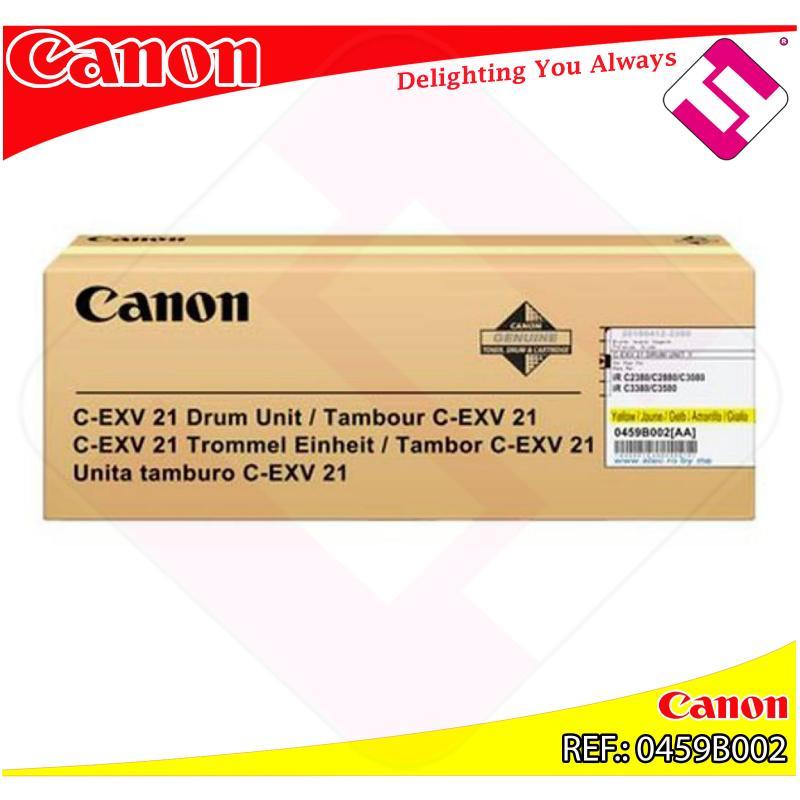 CANON TAMBOR COPIADORA AMARILLO CEXV21 53.000 PAGINAS IRC/33