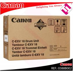 CANON TAMBOR COPIADORA NEGRO C-EXV18 26.000 PGINAS IR-/1018