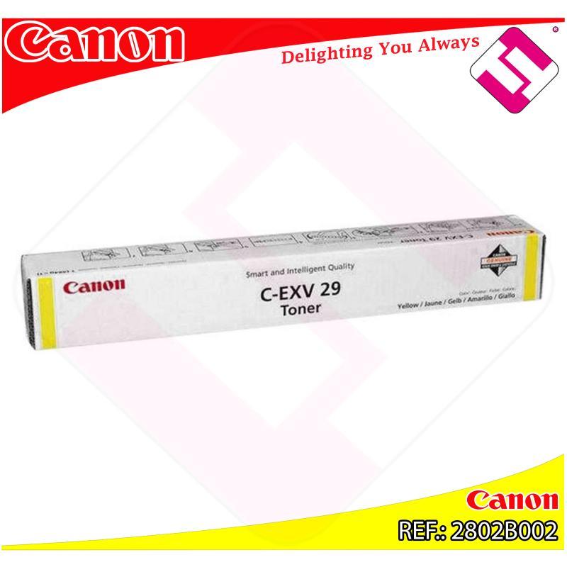 CANON TONER COPIADORA AMARILLO CEXV29 IRC/5030/30I/35/35I