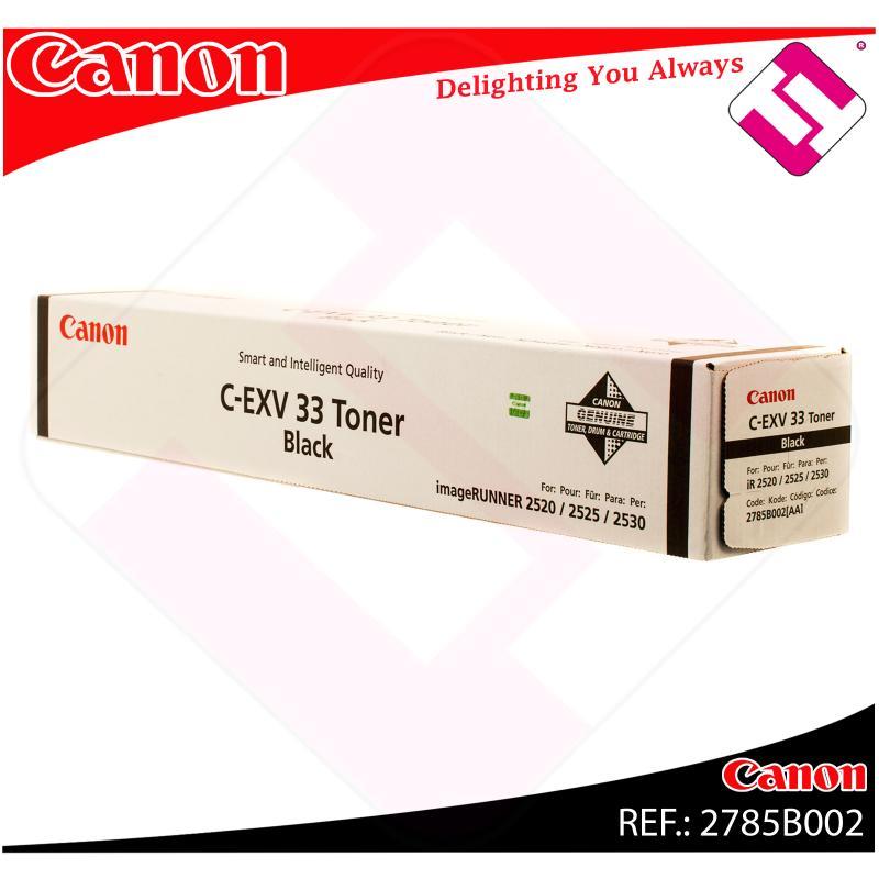 CANON TONER COPIADORA NEGRO C-EXV33 14.600 PAGINAS IR/2520/2
