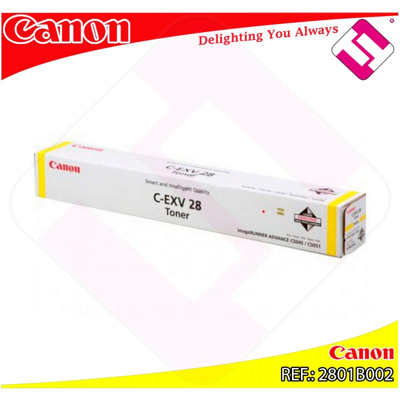 CANON TONER COPIADORA AMARILLO C-EXV28 38.000 PAGINAS IR C/5