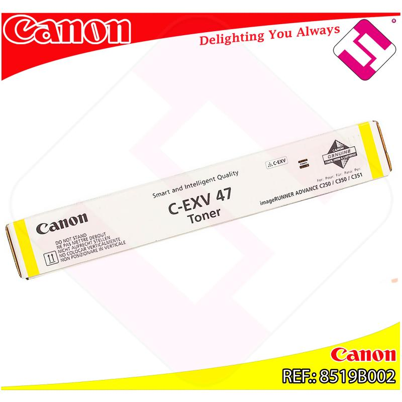 CANON TONER AMARILLO IR-C250//350I 21.500K CEXV47