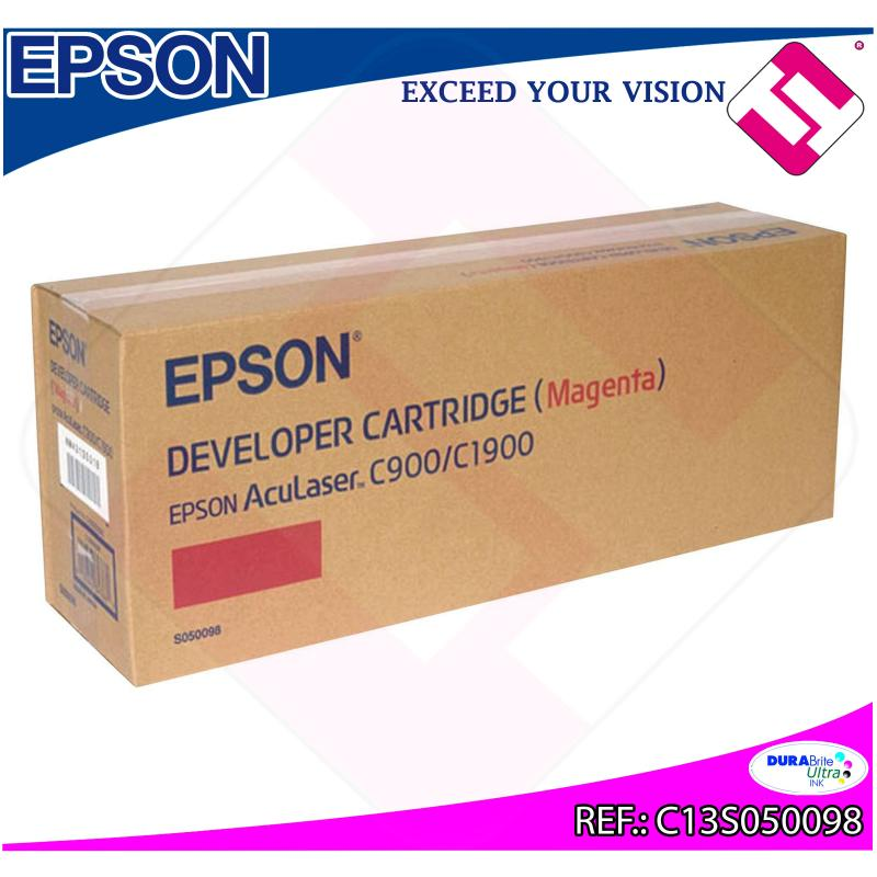 EPSON TONER LASER MAGENTA 4.500 PGINAS ACULASER C/900/1900
