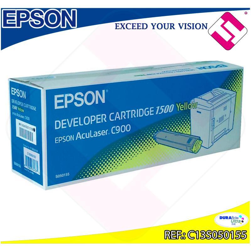 EPSON TONER LASER AMARILLO 1.500 PGINAS ACULASER C/900