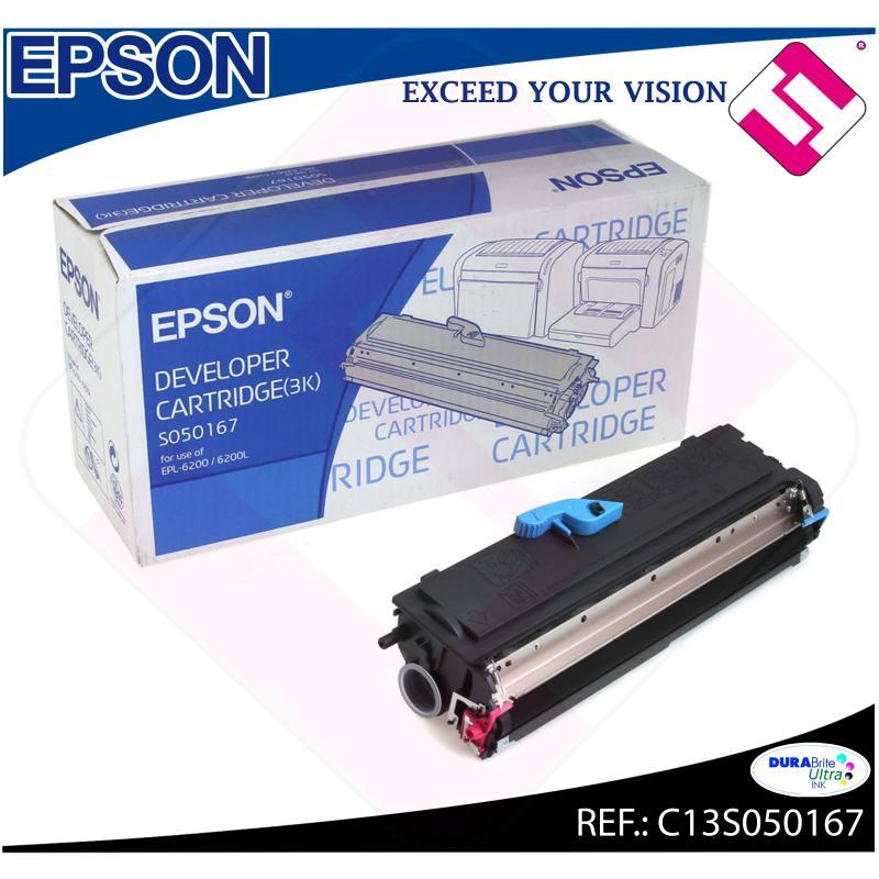 EPSON TONER LASER NEGRO 3.000 PAGINAS EPL/6200/6200L