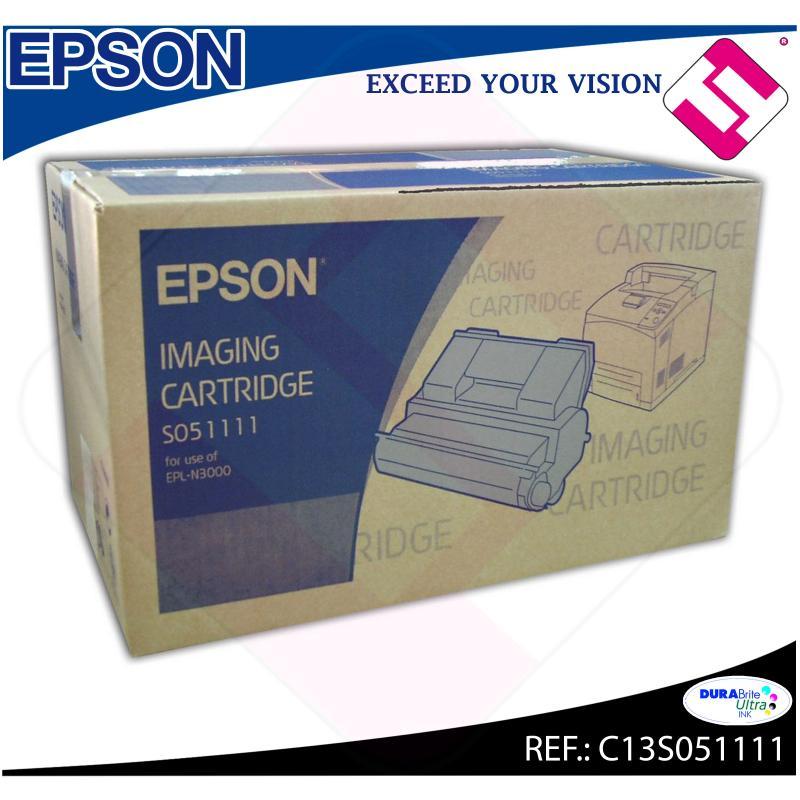 EPSON TONER+TAMBOR NEGRO 17.000 PAGINAS EPL-N/3000