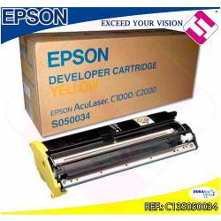 EPSON TONER LASER AMARILLO 6.000 PAGINAS ACULASER C/1000/200