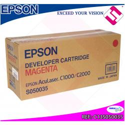 EPSON TONER LASER MAGENTA 6.000 PAGINAS ACULASER C/1000/2000