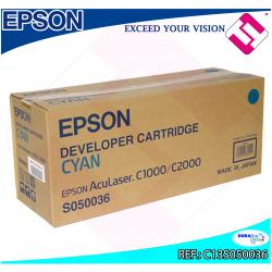 EPSON TONER LASER CIAN 6.000 PAGINAS ACULASER C/1000/2000