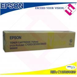 EPSON TONER LASER AMARILLO 6.000 PAGINAS ACULASER C/8500/860