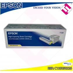 EPSON TONER LASER AMARILLO 5.000 PAGINAS ACULASER/2600N/C260