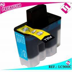 TINTA COLOR CIAN LC900 CARTUCHO AZUL NONOEMBROTHER LC900C COMPATIBLE DCP MFC