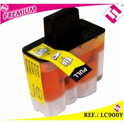 TINTA COLOR AMARILLA LC900 CARTUCHO AMARILLO NONOEMBROTHER LC900Y COMPATIBLE MFC