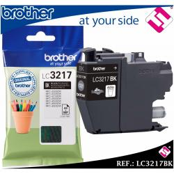 TINTA COLOR NEGRA LC3217 CARTUCHO NEGRO LC3217BK IMPRESORAS BROTHER ORIGINAL