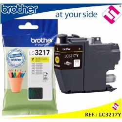 TINTA COLOR AMARILLA LC3217 CARTUCHO AMARILLO LC3217Y IMPRESORA BROTHER ORIGINAL