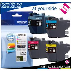 MULTI PACK NEGRO CIAN MAGENTA AMARILLO LC3219XL TINTA CARTUCHO BROTHER ORIGINAL