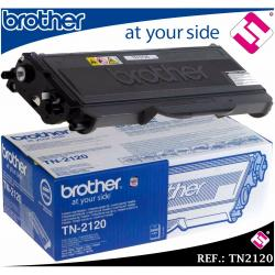TONER NEGRO TN2120 TN360 ORIGINAL PARA IMPRESORAS BROTHER MULTIFUNCIONES ESCANER