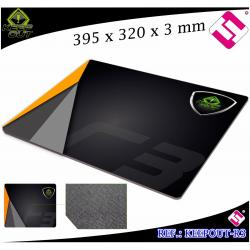 ALMOHADILLA R3 GAMING KEEP OUT 395X320X3 MM RATON ALFOMBRILLA MOUSE PROFESIONAL