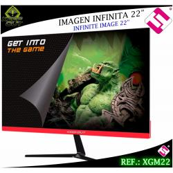 MONITOR 22 PULGADAS GAMING KEEP OUT XGM22 HD 5MS HDMI DVI VGA AUDIO JACK 3.5MM