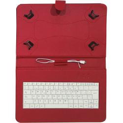 """Talius funda con teclado para tablet 10"""" CV-3006 r"""