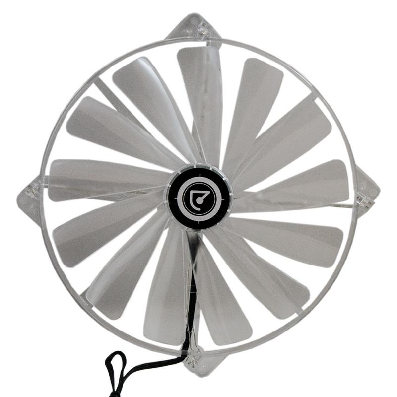 Talius ventilador caja 4 led FAN-02 20cm red