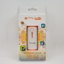 Talius bateria powerbank 4000mAh PWB4008 orange