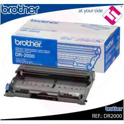 TAMBOR BROTHER ORIGINAL DR2000 COLOR NEGRO PARA 12.000 PAGINAS A4 AL 5% DE COVERTURA