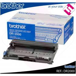 TAMBOR BROTHER ORIGINAL DR2000 COLOR NEGRO PARA 12.000 PAGINAS A4 AL 5% DE...