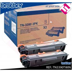 BROTHER TONER LASER NEGRO 24.000 PAGINAS PACK 2/DCP8250DN/MF