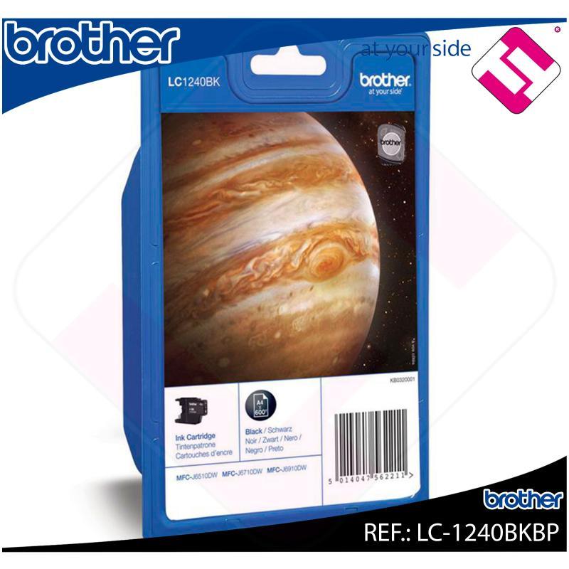 BROTHER CARTUCHO INYECCION TINTA NEGRO 600 P GINAS MFC-/J651