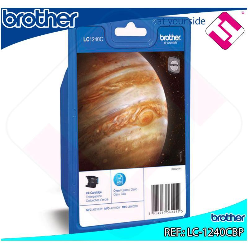 BROTHER CARTUCHO INYECCION TINTA CIAN 600 P GINAS MFC-/J6510