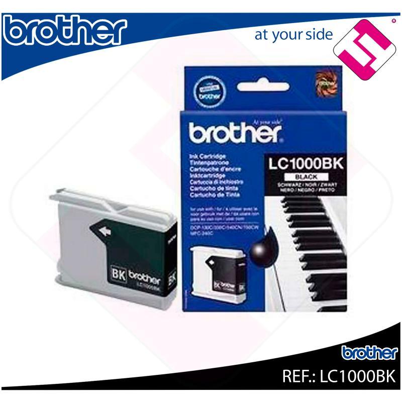 BROTHER CARTUCHO INYECCION TINTA NEGRO 500 P GINAS FAX/1360/