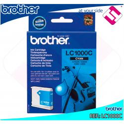 BROTHER CARTUCHO INYECCION TINTA CIAN 400 P GINAS MULTIFUNCI