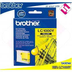 BROTHER CARTUCHO INYECCION TINTA AMARILLO 400 P GINAS MULTIF
