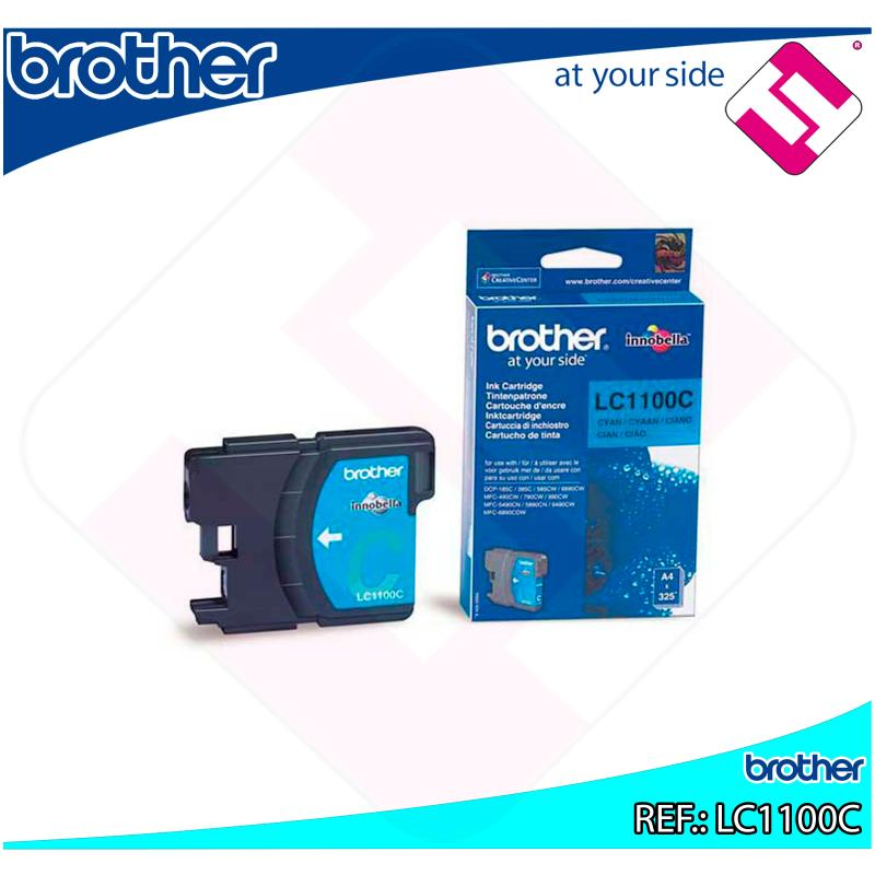 BROTHER CARTUCHO INYECCION TINTA CIAN 325 P GINAS MFC/6490CW