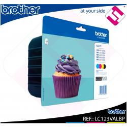 BROTHER CARTUCHO INYECCION TINTA RAINBOW PACK BK/YL/CY/MG 60
