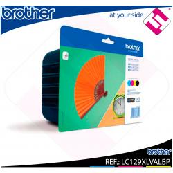 BROTHER CARTUCHO INYECCION TINTA RAINBOW PACK 2400 PG. NEGR