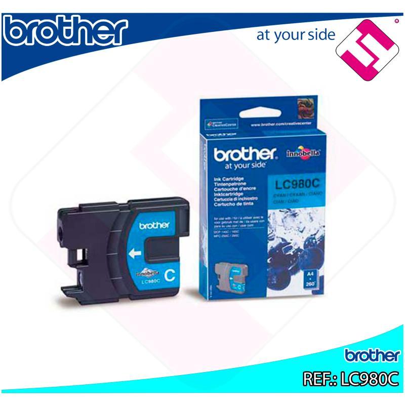 BROTHER CARTUCHO INYECCION TINTA CIAN 300 P GINAS DCP-/145/1