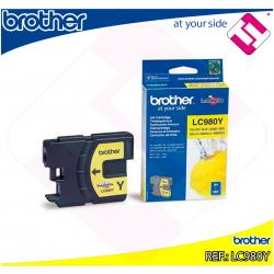 BROTHER CARTUCHO INYECCION TINTA AMARILLO 300 PGINAS DCP-/1