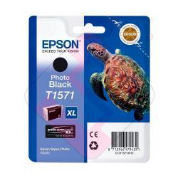 EPSON CARTUCHO INYECCION TINTA NEGRO FOTO T1571 25.9ML BLIST